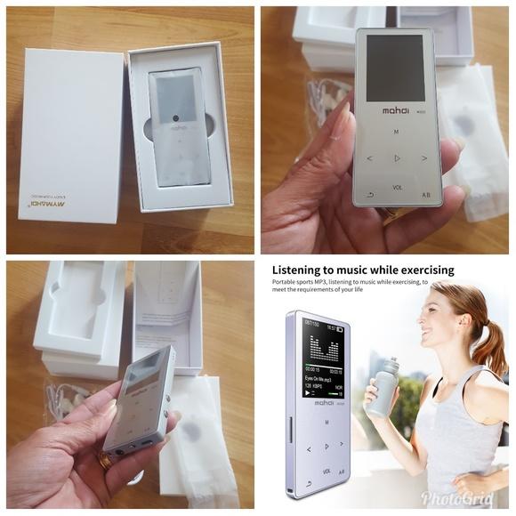 Accessories - 8GB MP3/MP4 MUSIC PLAYER